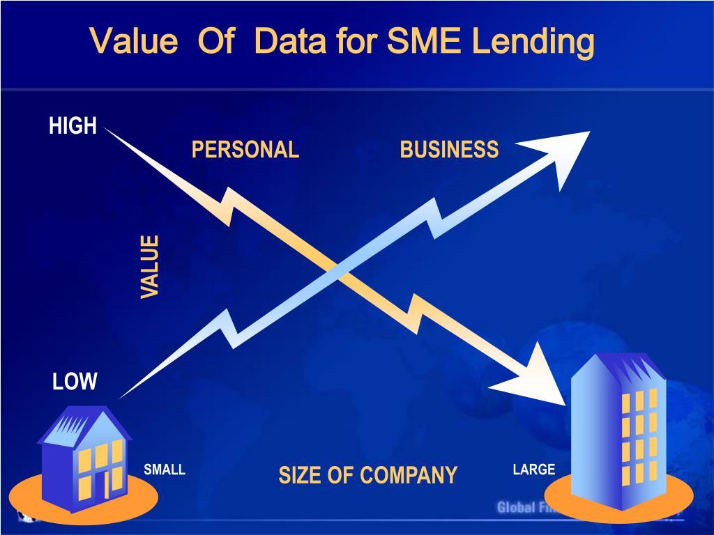 Value  Of  Data for SME Lending