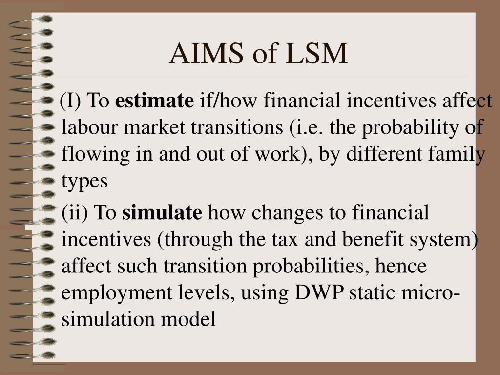 AIMS of LSM