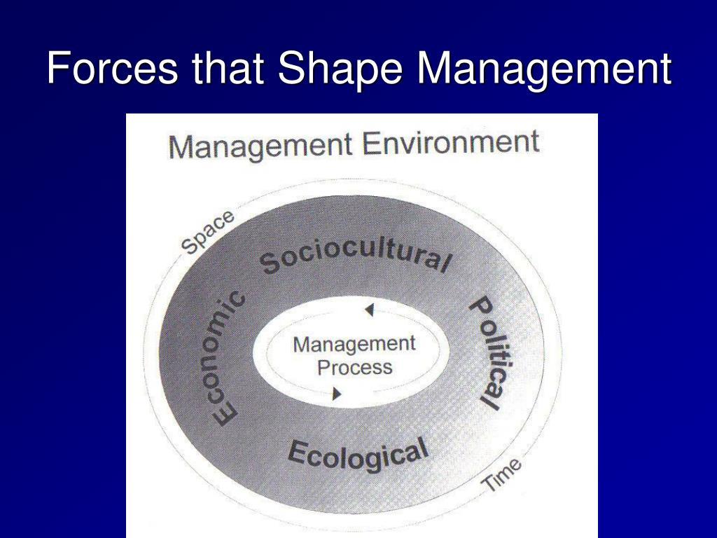 Forces that Shape Management