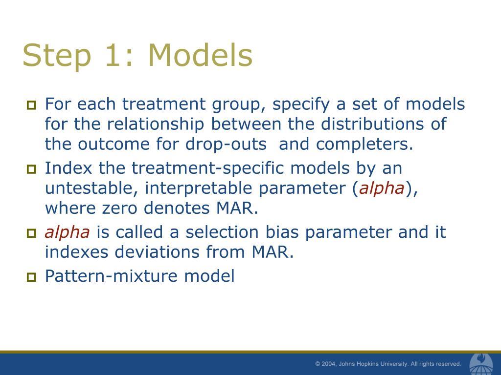 Step 1: Models