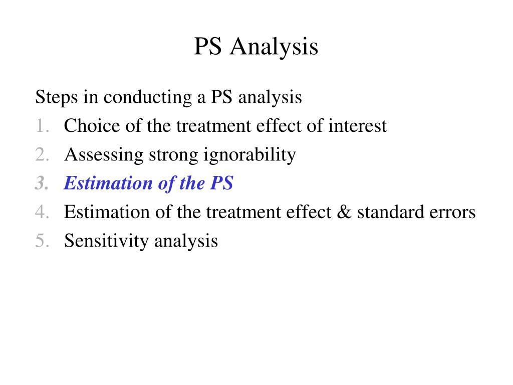 PS Analysis