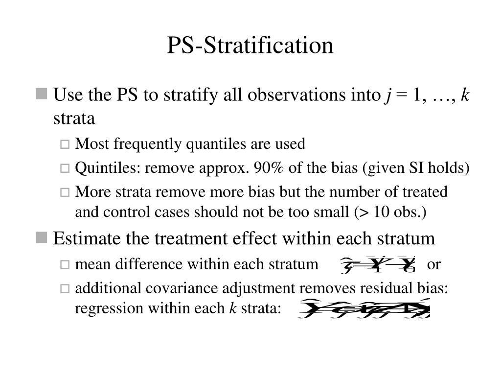 PS-Stratification