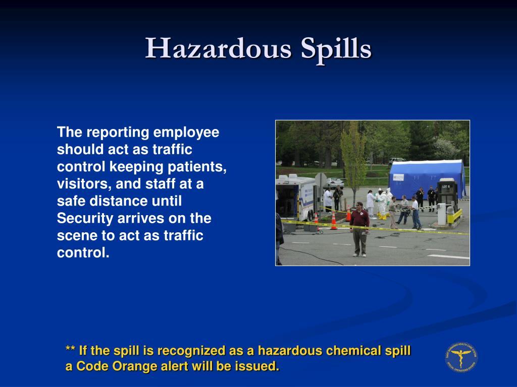 Hazardous Spills