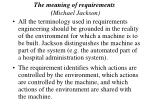 the meaning of requirements michael jackson24