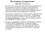 the meaning of requirements michael jackson39