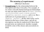 the meaning of requirements michael jackson40