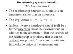 the meaning of requirements michael jackson50