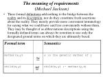 the meaning of requirements michael jackson57