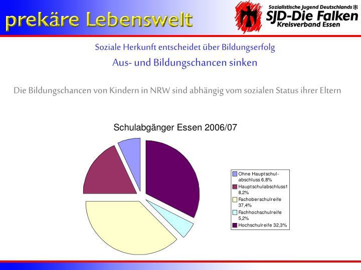 Soziale Herkunft entscheidet über Bildungserfolg