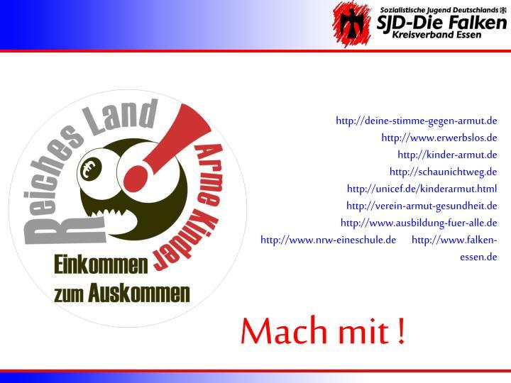 http://deine-stimme-gegen-armut.de