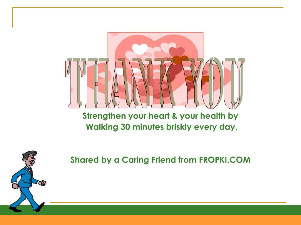 Strengthen your heart & your health by
