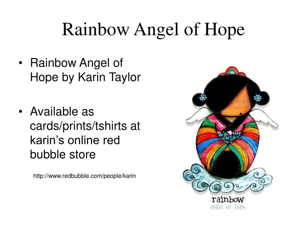 Rainbow Angel of Hope