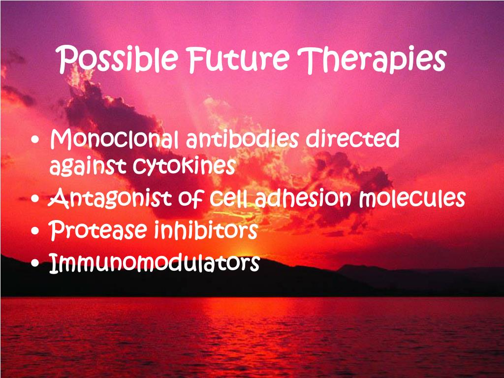 Possible Future Therapies