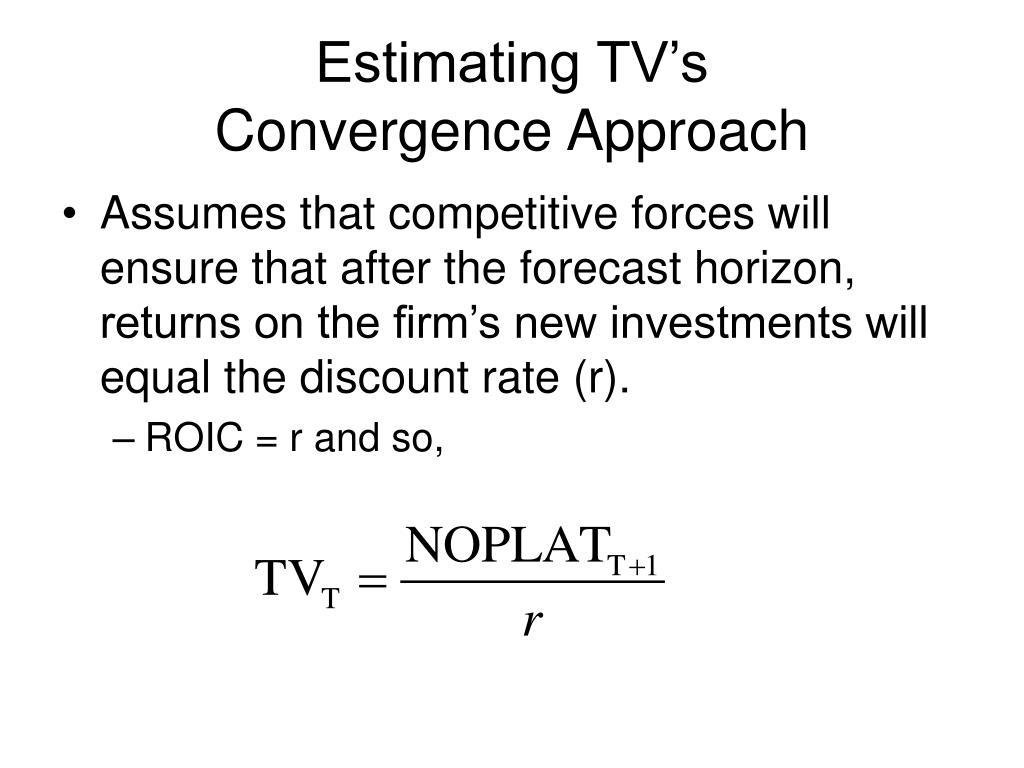 Estimating TV's