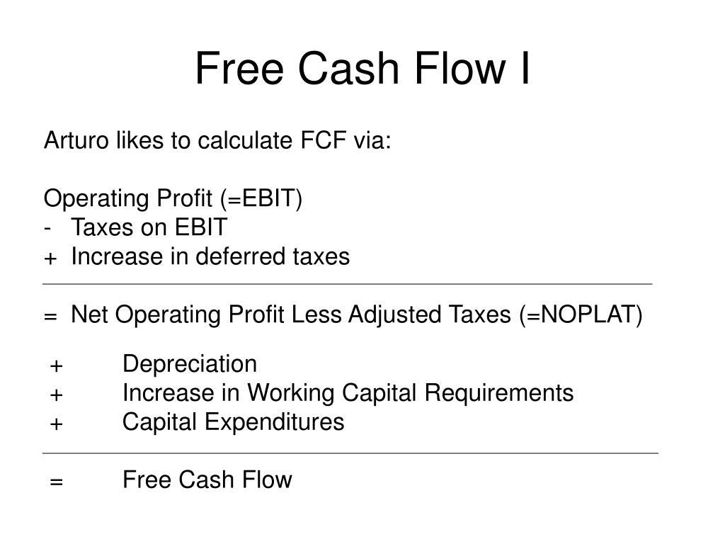 Free Cash Flow I