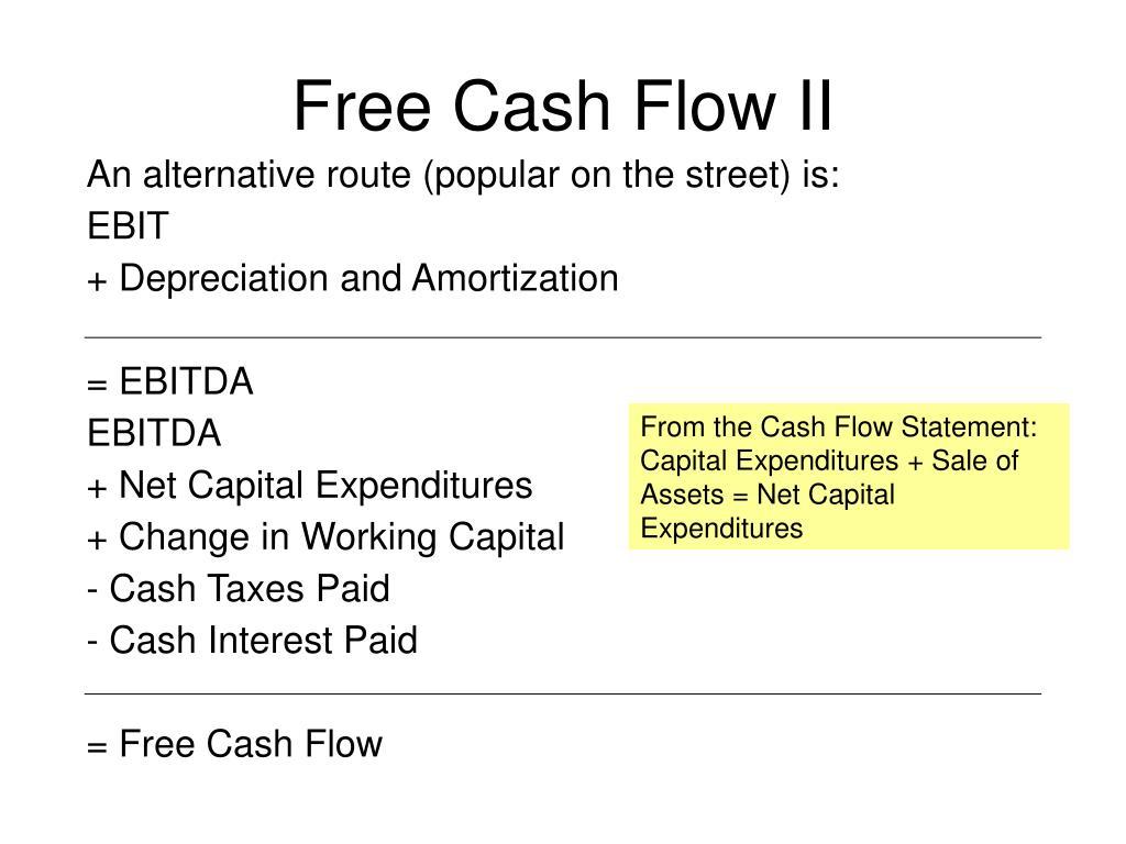 Free Cash Flow II