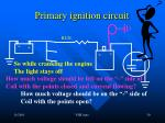 primary ignition circuit30