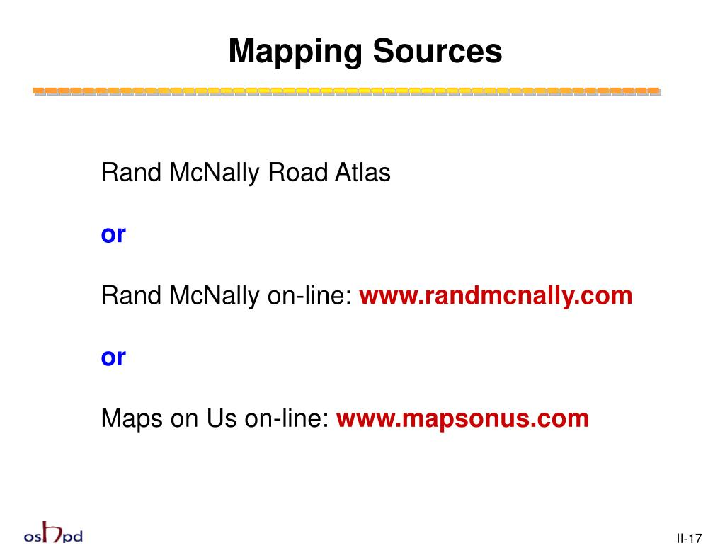 Mapping Sources