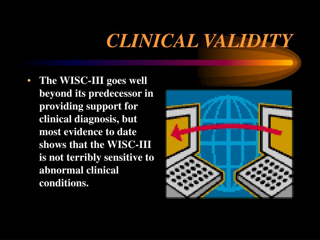 CLINICAL VALIDITY