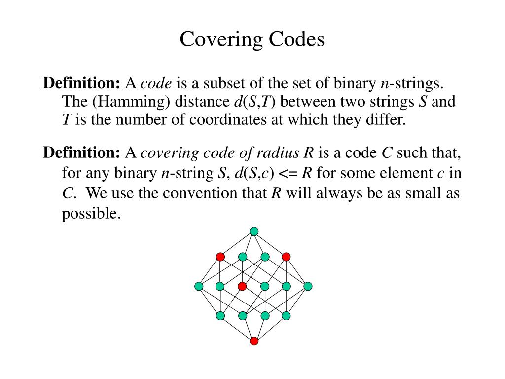Covering Codes