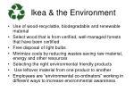 ikea the environment