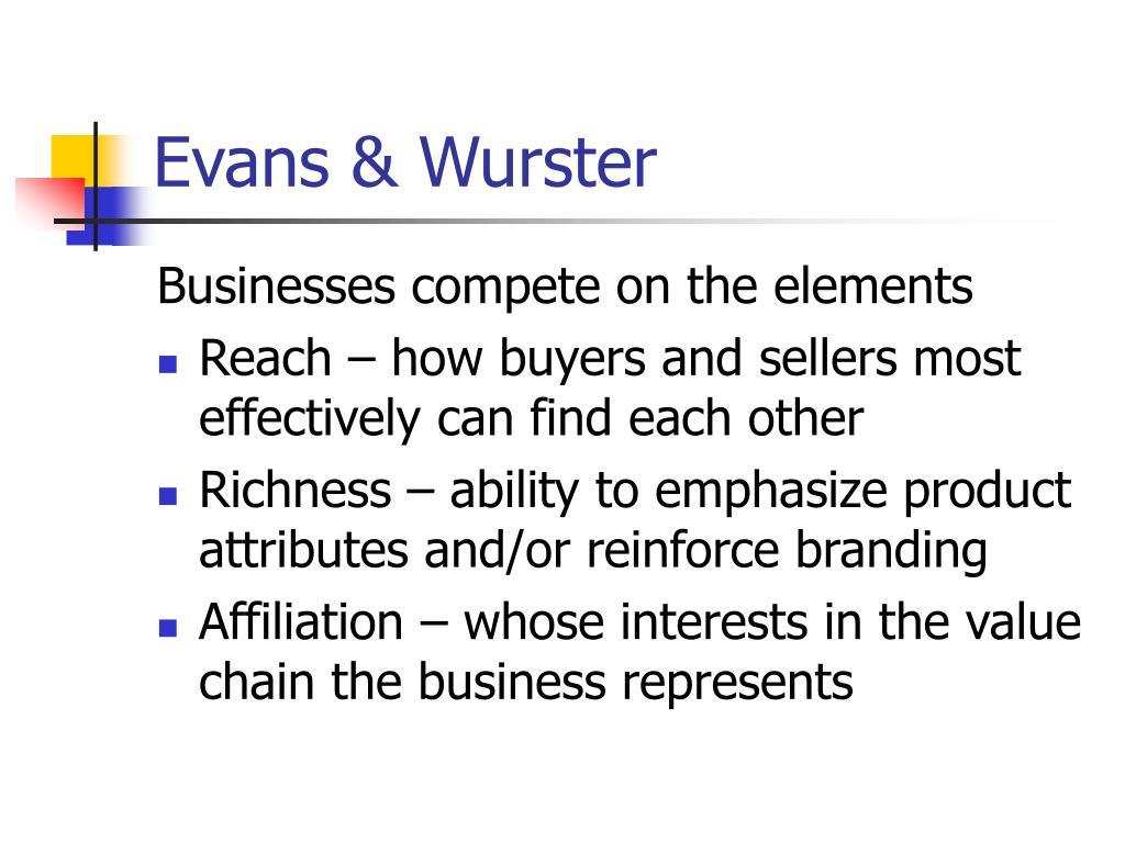 Evans & Wurster