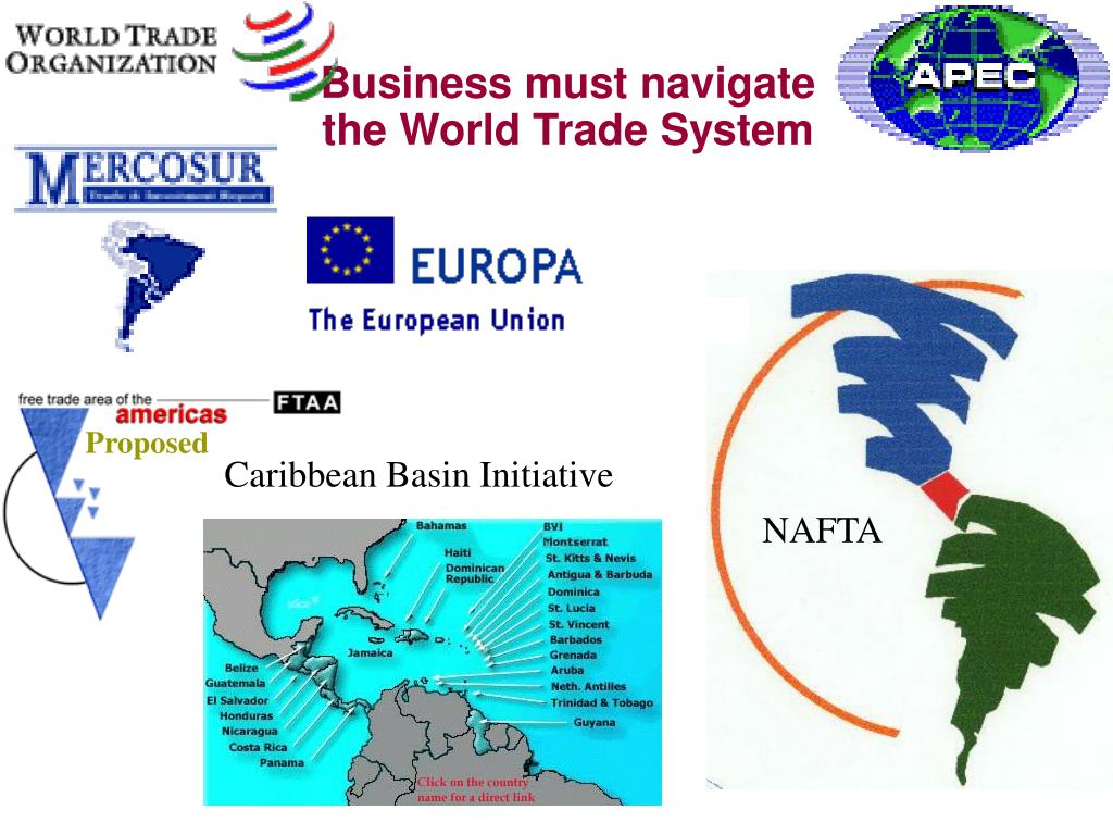 Business must navigate the World Trade System