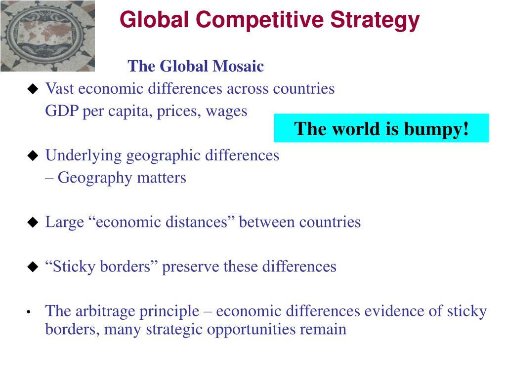 The Global Mosaic