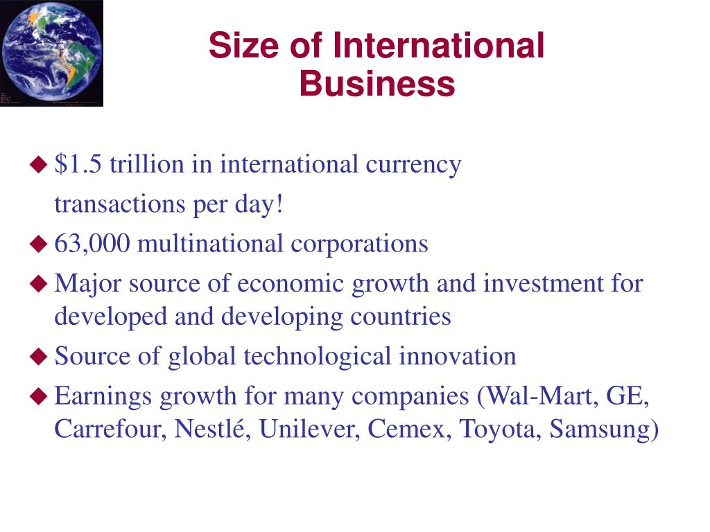 $1.5 trillion in international currency