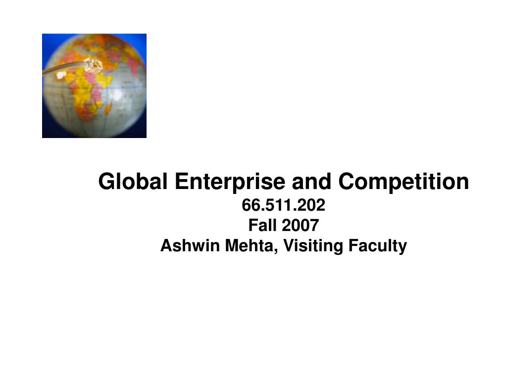 Global Enterprise and Competition