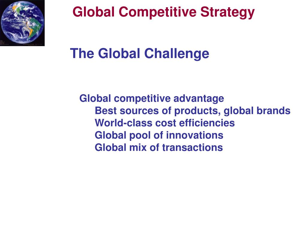Global Competitive
