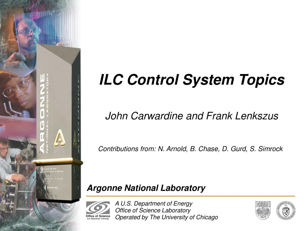 ILC Control System Topics