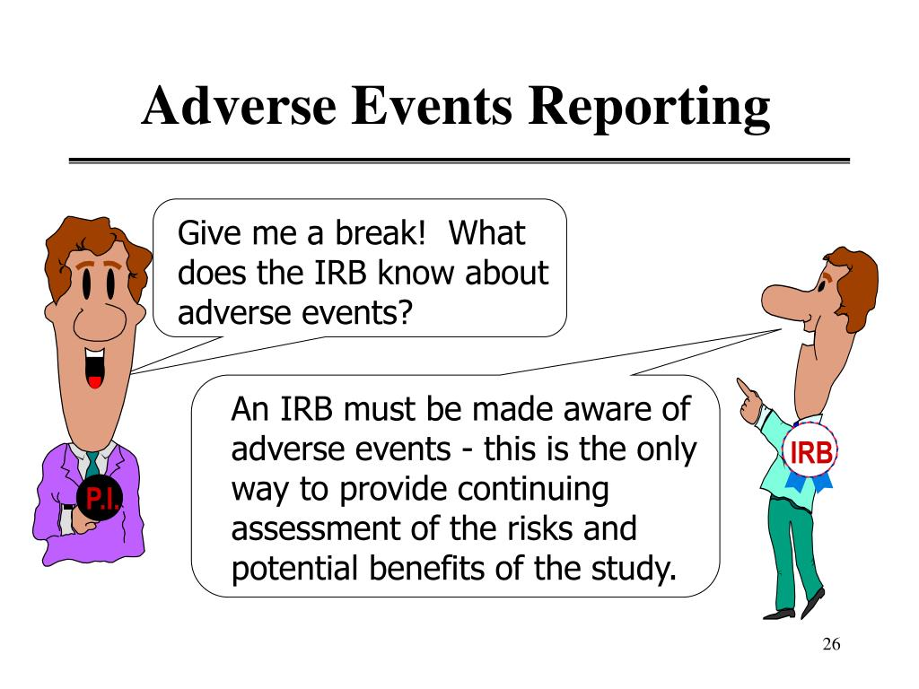 Adverse Events Reporting