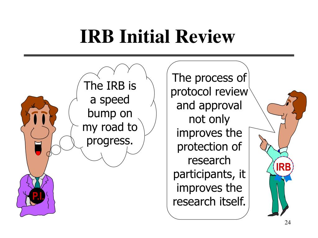IRB Initial Review