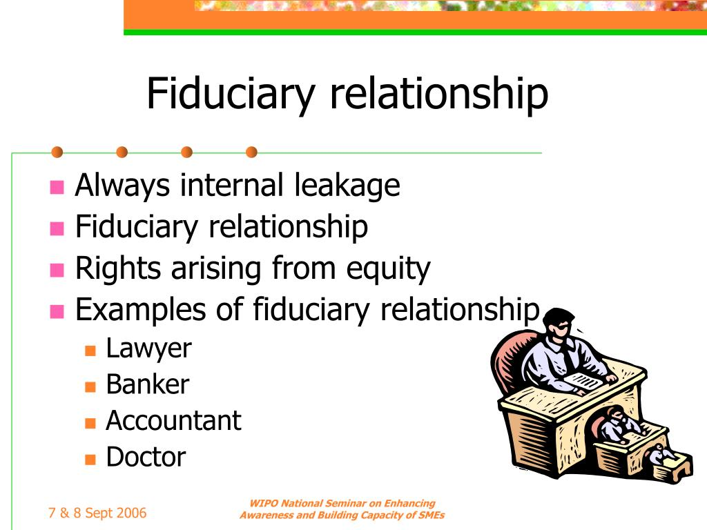 Fiduciary relationship