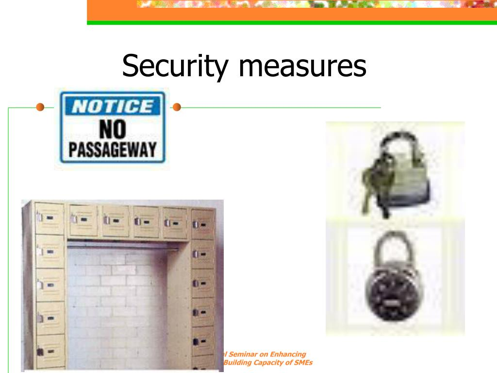 Security measures