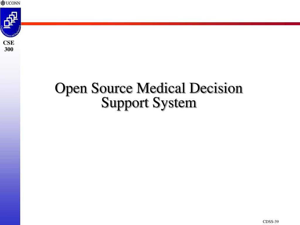 Open Source Medical Decision Support System