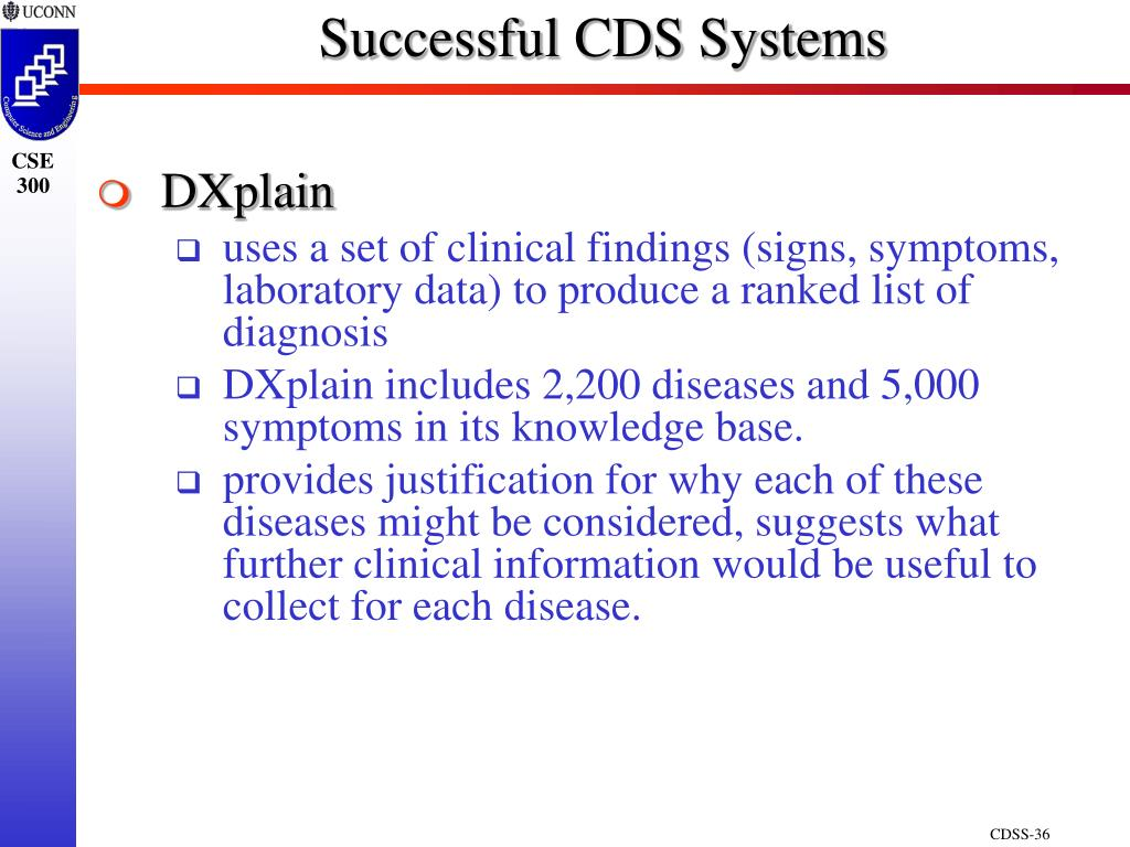 Successful CDS Systems