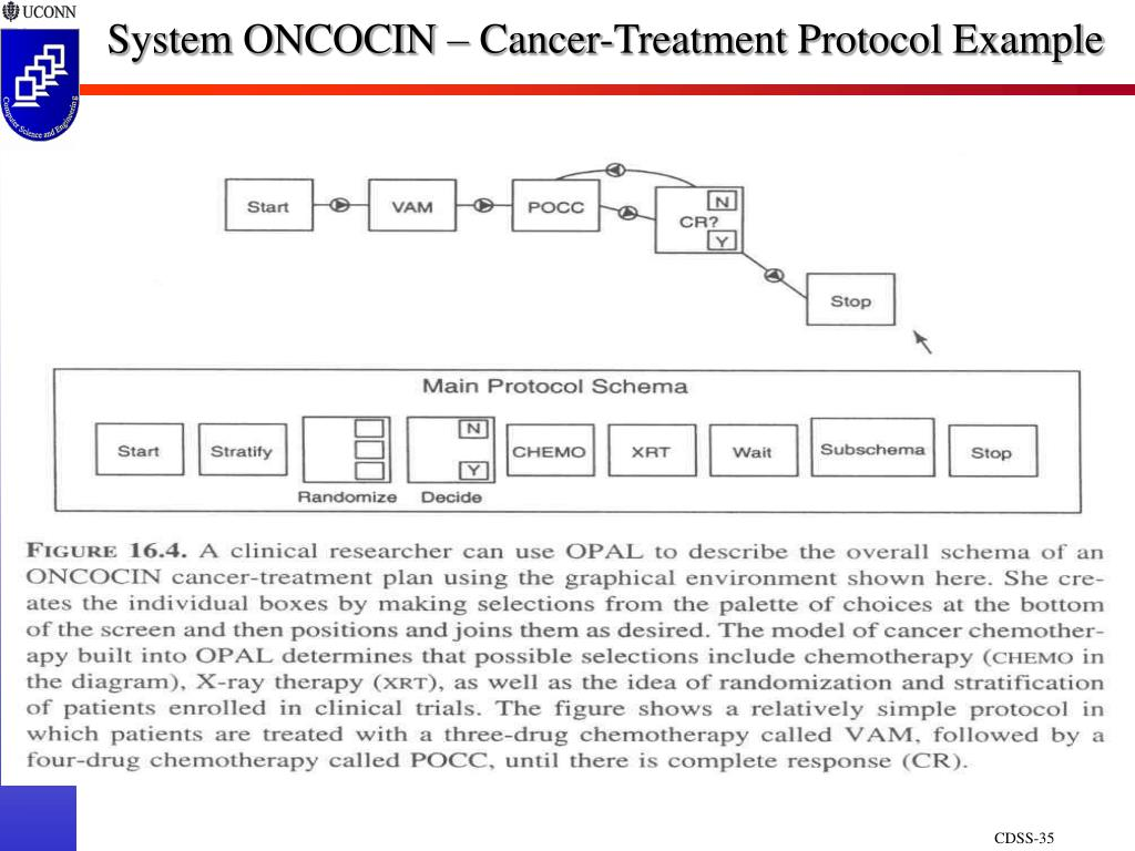 System ONCOCIN – Cancer-Treatment Protocol Example