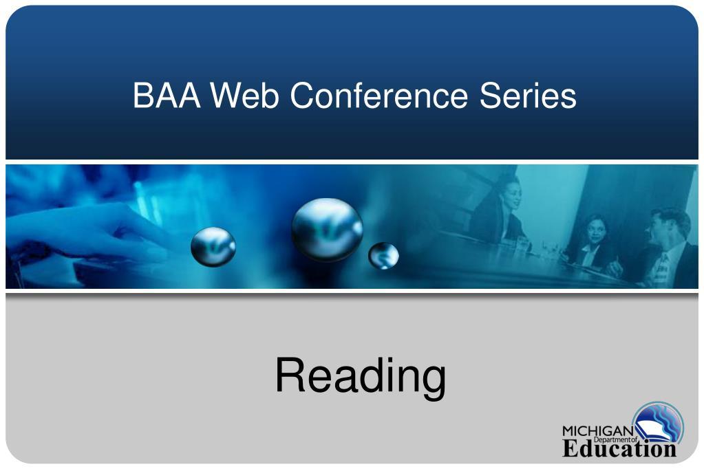 BAA Web Conference Series
