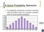 a quick probability refresher16