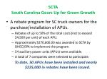 scta south carolina gears up for green growth