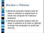 blackhat vs whitehat
