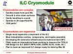 ilc cryomodule