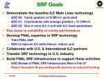 srf goals
