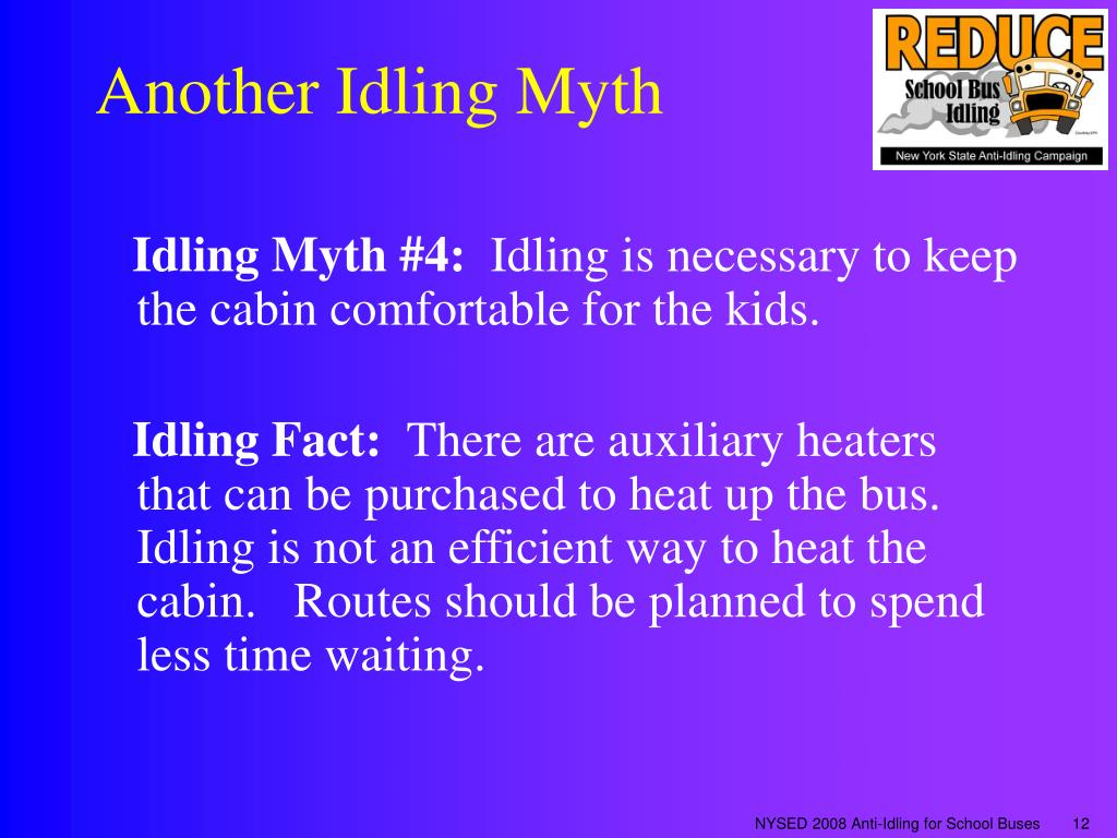 Another Idling Myth