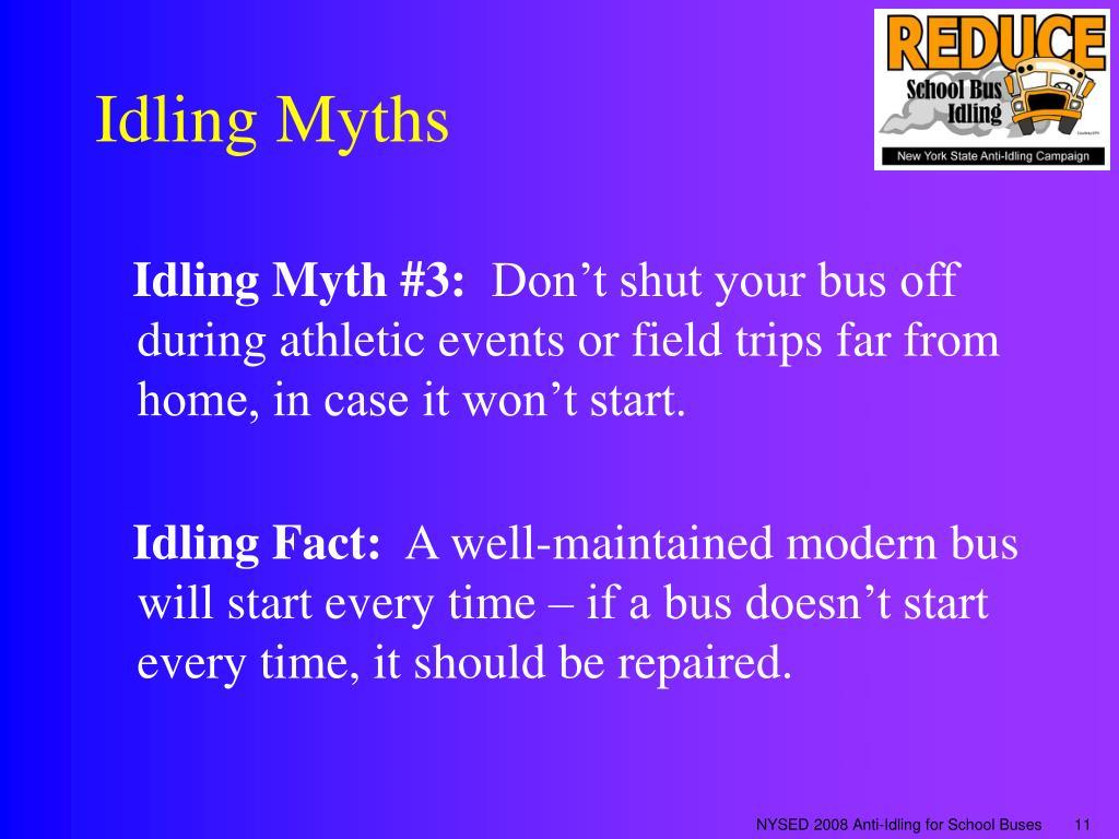 Idling Myths