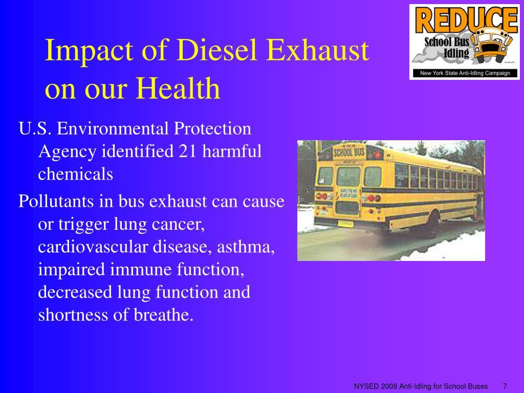 Impact of Diesel Exhaust