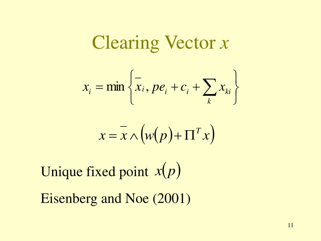 Clearing Vector