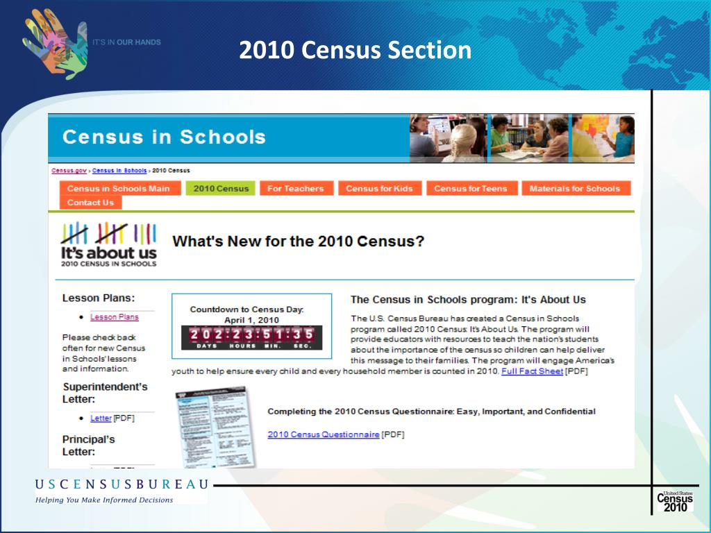 2010 Census Section